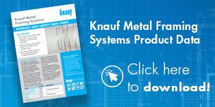 Knauf Metal Framing Systems Product Data